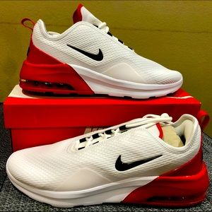 Nike Air Max Motion 2 White University Red